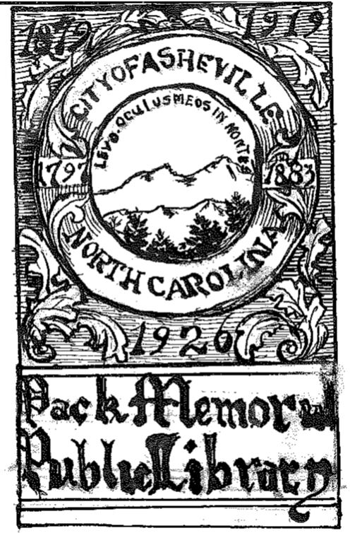 Miss Dickey's bookplate design