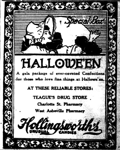 IT'S ALWAYS BEEN ABOUT THE CANDY! 10/29/1924