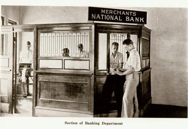 Cecil's interior bank