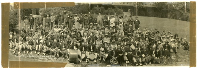 The Asheville Kiwanis Club Celebrates Ladies Day May 18, 1923