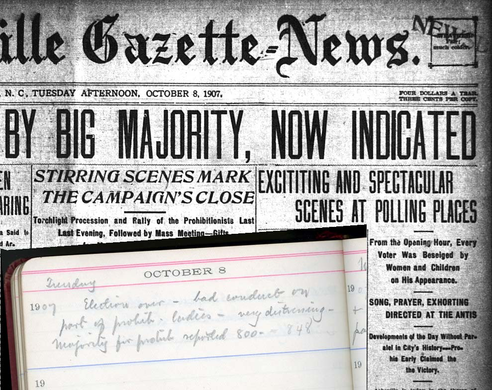 The Asheville Gazette-News reported, From the Opening Hour, Every Voter Was Beseiged by Women and Children