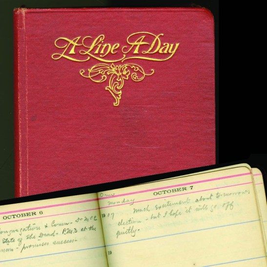 Diary kept by Thomas Walton Patton during 1907, the last year of his life
