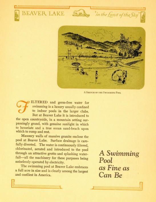 Beaver Lake Promotional