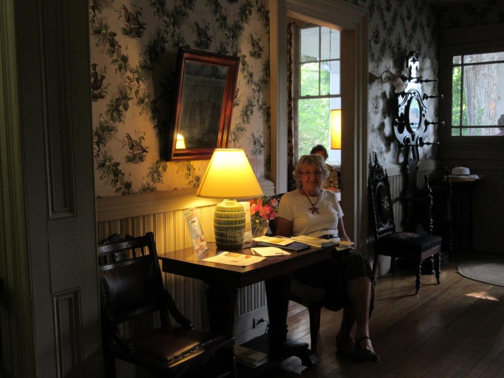 Board Member Phyllis Lang.