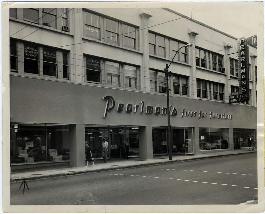 furniture store at 56 haywood street as it appeared in the 1960u0027s