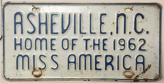 Miss Asheville plate smaller