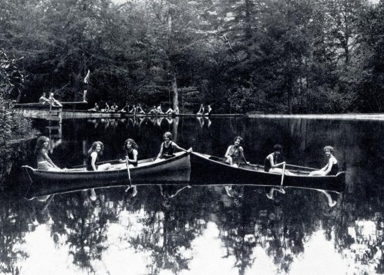 Water sports at Camp Dellwood