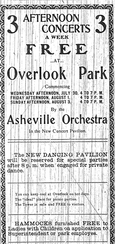 Overlook Park ad
