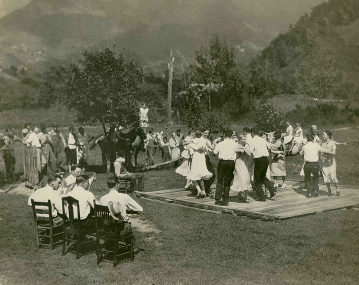 Square Dance at Soco Gap NC copy