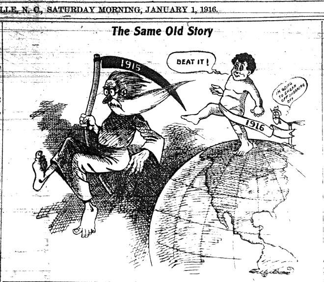 new year borne 1916