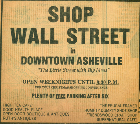 Shop Wall St ad 72