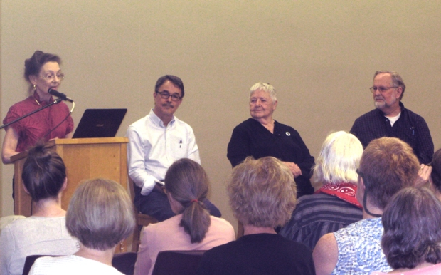 Left to right: Ann Dunn, Dick Kowal, Connie Bostic, Ralph Redpath.