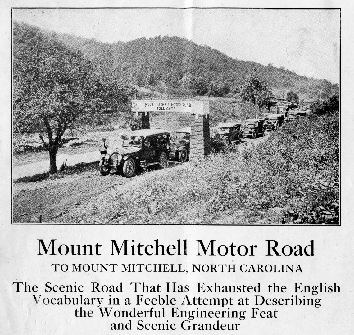 Mount Mitchell Motor Road: to Mount Mitchell, North Carolina
