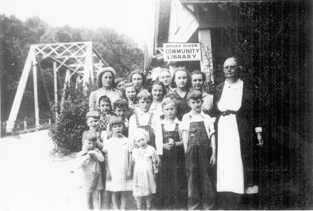 Aunt Mae Gilliam_Broad River Library_children