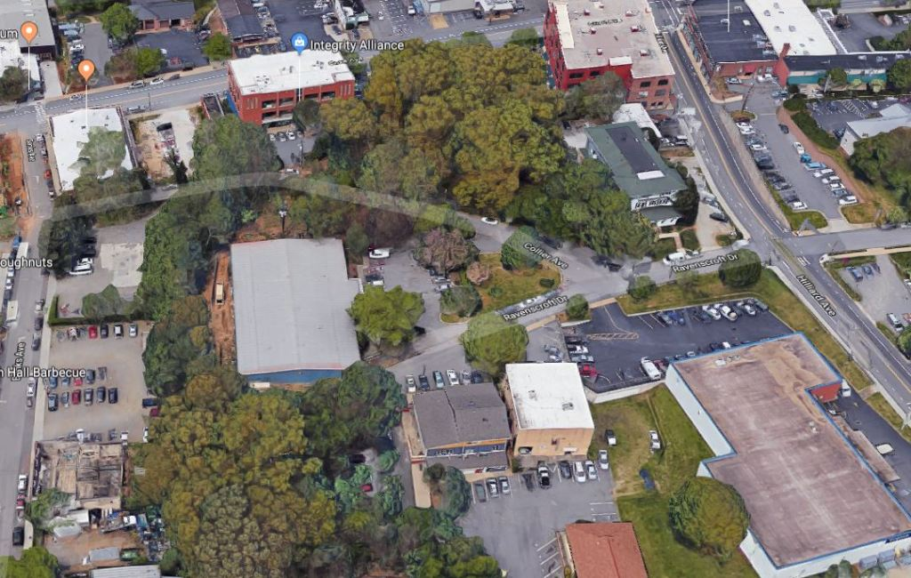 This image has an empty alt attribute; its file name is collier-aerial-viewcapture.jpg